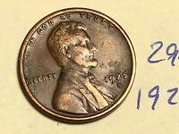 1925-S 1C BN LINCOLN CENT WHEAT CENT 2974K