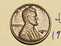 1932-D 1C BN LINCOLN CENT WHEAT CENT 4409K