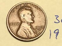 1928-D 1C BN LINCOLN CENT WHEAT CENT 3055K
