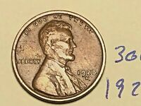 1928-D 1C BN LINCOLN CENT WHEAT CENT 3063K