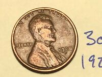 1928-D 1C BN LINCOLN CENT WHEAT CENT 3067K
