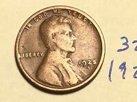 1925-S 1C BN LINCOLN CENT WHEAT CENT 3236K