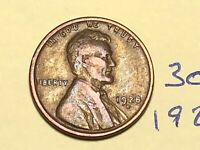 1928-D 1C BN LINCOLN CENT WHEAT CENT 3058K