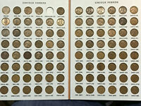 LINCOLN WHEAT CENT SET NEAR COMPLETE 1909-1999 INCLUDES 1909-S 1914-D 1931-S