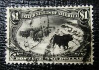 NYSTAMPS US STAMP  292 USED $725