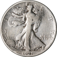 1921-S WALKING LIBERTY HALF GREAT DEALS FROM THE EXECUTIVE COIN COMPANY