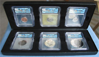 ICG PRESIDENTIAL PROOF COLLECTION 6-COIN SET PR70 DCAM 1978-S EISENHOWER DOLLAR