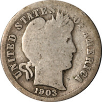 1903-S BARBER DIME GREAT DEALS FROM THE EXECUTIVE COIN COMPANY