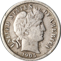 1905-O BARBER DIME GREAT DEALS FROM THE EXECUTIVE COIN COMPANY