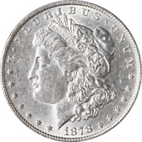 1878-P 7/8 T.F. MORGAN SILVER DOLLAR - WEAK GREAT DEALS FROM THE EXECUTIVE COIN