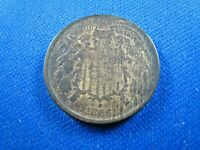 UNITED STATES 1866  -   2 CENT COIN