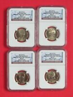 2013 P ANNUAL DOLLAR COIN SET NGC MINT STATE 67 - TAFT MCKINLEY WILSON ROOSEVELT