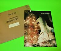 1909 STS 8 1983  COVER & FOLDER FLOWN ON THE CHALLENGER SPACE SHUTTLE UNOPENED