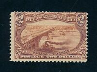 DRBOBSTAMPS US SCOTT 293 MINT HINGED OG SOUND STAMP
