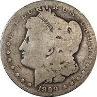 1899-O MORGAN SILVER DOLLAR - MICRO 'O' GREAT DEALS FROM THE EXECUTIVE COIN COMP