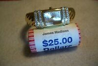 JAMES  MADISON  PRESIDENTIAL DOLLAR COIN $25 ROLL &  1 - LADIES  WATCH  FREE -