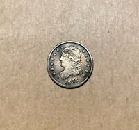 1833 CAPPED BUST HALF DIME   SILVER   5 CENTS   BUST   SILVE