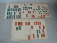 NYSTAMPS G OLD US BOB REVENUE STAMP COLLECTION ALBUM PAGE