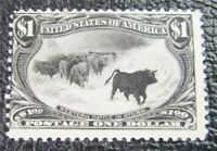 NYSTAMPS US STAMP  292 MINT OG H $1150