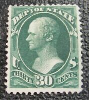 NYSTAMPS US OFFICIAL STAMP  O66 MINT OG H $500