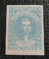 NYSTAMPS US CSA CONFEDERATE STAMP  2A MINT OG H $300