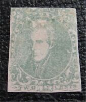 NYSTAMPS US CSA CONFEDERATE STAMP  3 MINT OG H $900