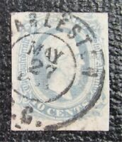 NYSTAMPS US CSA CONFEDERATE STAMP  11A USED $60