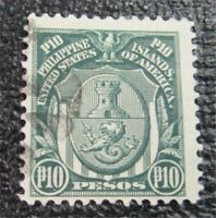 NYSTAMPS US PHILIPPINES STAMP  274 USED $30