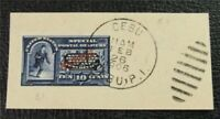 NYSTAMPS US PHILIPPINES SPECIAL DELIVERY STAMP  E1 USED $80