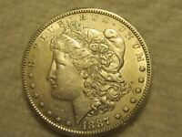 1887-S  MORGAN  DOLLAR