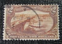 NYSTAMPS US STAMP  293 USED $1100