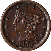 1853 HALF CENT GREAT DEALS FROM THE EXECUTIVE COIN COMPANY