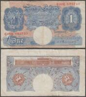 GREAT BRITAIN 1 POUND ND  1948 60  VF  P 367 A