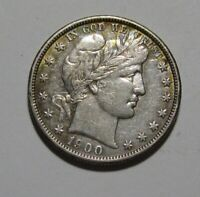 1900 O BARBER HALF DOLLAR   EXTRA FINE CONDITION / OLD CLEAN