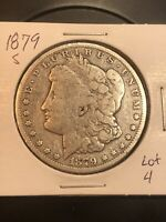 1879 S REV 78 MORGAN SILVER DOLLAR  TOP 100 LOT 4 REVERSE OF 1878