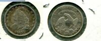 1835 CAPPED BUST SILVER DIME TYPE COIN F VF 5608N