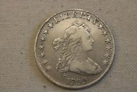 1799 DRAPED BUST LIBERTY SILVER DOLLAR