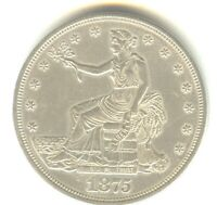 1875 CC TRADE DOLLAR MS DETAILS IN GRADE  EARLY SILVER DOLLAR TYPE COIN