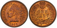 1908 1C INDIAN CENT MPD FS-301 S-4 PCGS MINT STATE 64RB CAC - ONE FINER 4/1