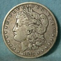 1878 CC CARSON CITY MINT MORGAN SILVER DOLLAR BETTER GRADE U