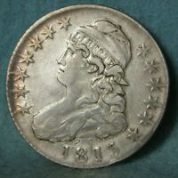 1813 CAPPED BUST SILVER HALF DOLLAR HIGH GRADE UNITED STATES