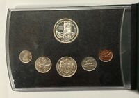 CANADA 1958 COIN SET  6 COINS  INCLUDES SILVER IN BOOKLET