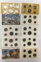 CANADA 1970 1971 1973 1980 PL PROOF LIKE SET COLLECTION LOT