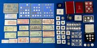 CANADA WORLD US COIN TOKEN & BANKNOTE ESTATE LOT  INCLUDES S