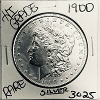 1900 MORGAN SILVER DOLLAR HI GRADE GENUINE U.S. MINT  COIN 3
