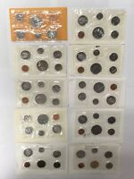 CANADA 1980 1989 PL PROOF LIKE SET COLLECTION LOT  10 PIECES
