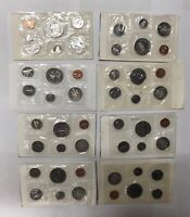 CANADA 1971 1973 1979 PL PROOF LIKE SET COLLECTION LOT  8 PI