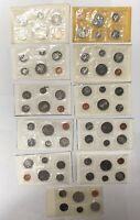 CANADA 1969 1979 PL PROOF LIKE SET COLLECTION LOT  11 PIECES