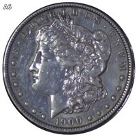 1900 EXTRA SHINNY MORGAN SILVER DOLLAR COIN