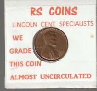 1949 S   LINCOLN  CENT    ALMOST UNCIRCULATED    RS COINS  102609